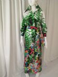 1970's Vintage LANVIN jungle print coat style maxi dress **SOLD**